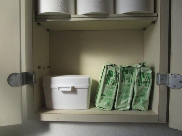 ASKULのトイレ掃除シート入れが便利 (1)