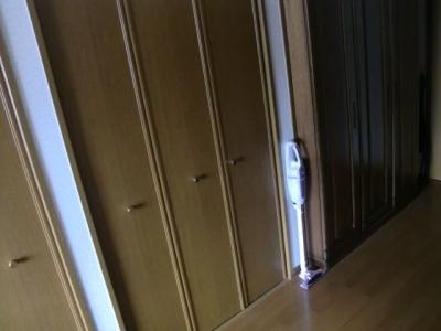 掃除機の収納 現在2021夏 コードレス 寝室