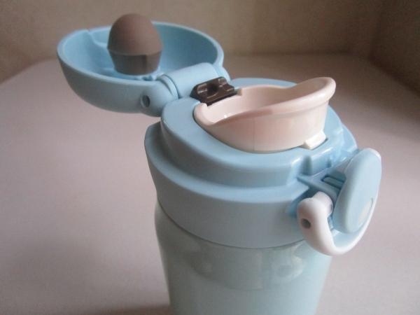 サーモス 水筒 真空断熱ケータイマグ ワンタッチオープンタイプ アイスグリーン 350ml JNR-351 (8)
