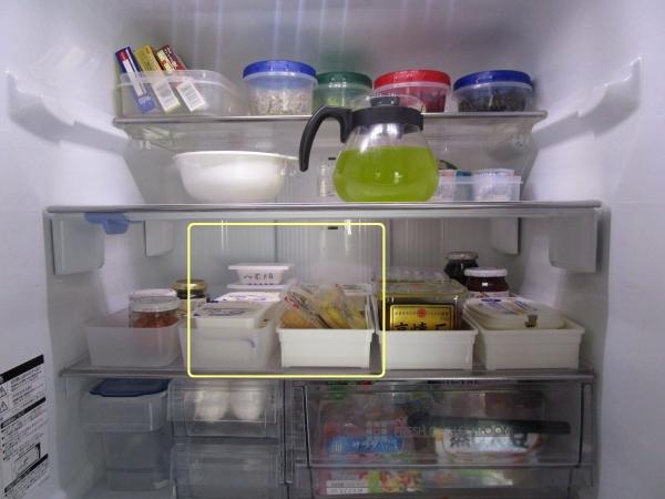 冷蔵庫冷蔵室 夏