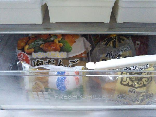 冷蔵庫チルド 新しいものを後ろに