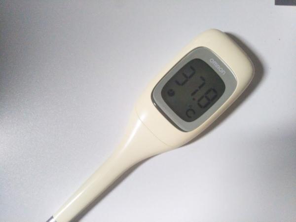 ワクチン微熱体温計