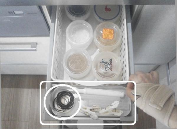 キッチン収納シンク下 あるものでまかなう