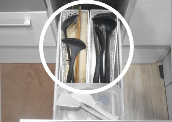 キッチン収納食器棚 あるものでまかなう3