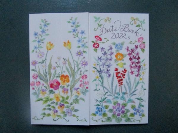啓佑社 刺しゅう花の手帳とカレンダー (5)