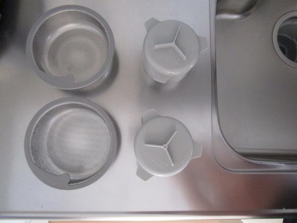 キッチン排水口の掃除は毎日2