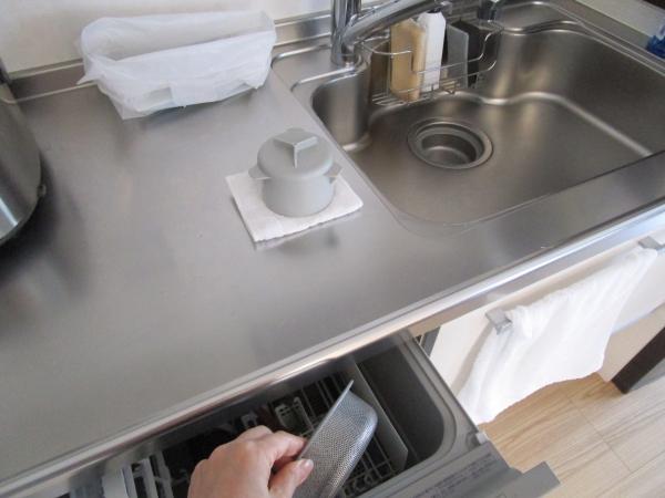 キッチン排水口の掃除は毎日4