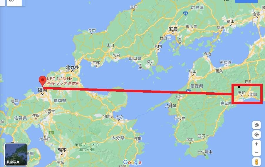 KBC radio map