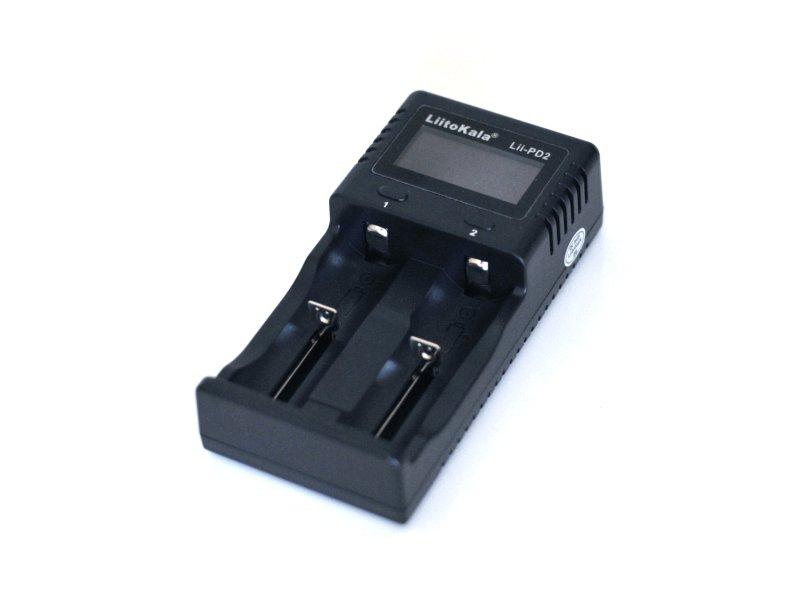 LiitoKala Lii-PD2 LCD Battery Charger レビュー