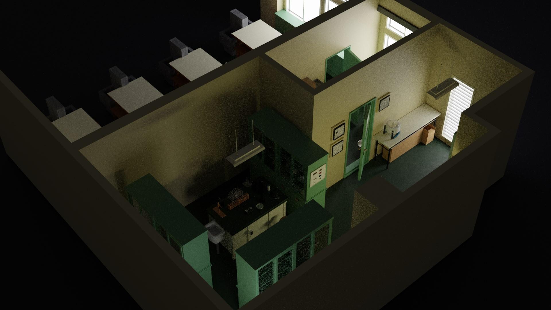理科室の実験室5