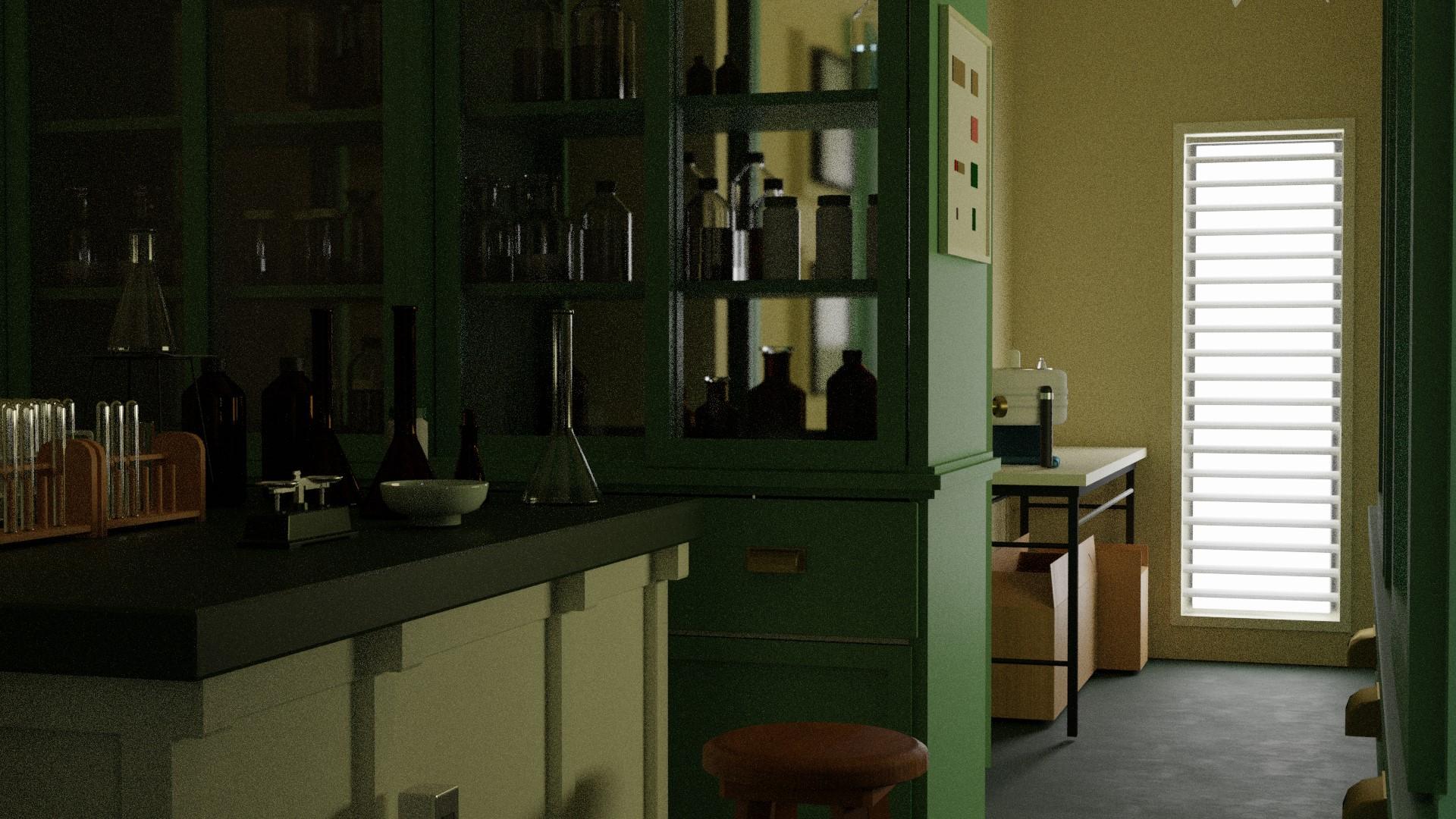 理科室の実験室1