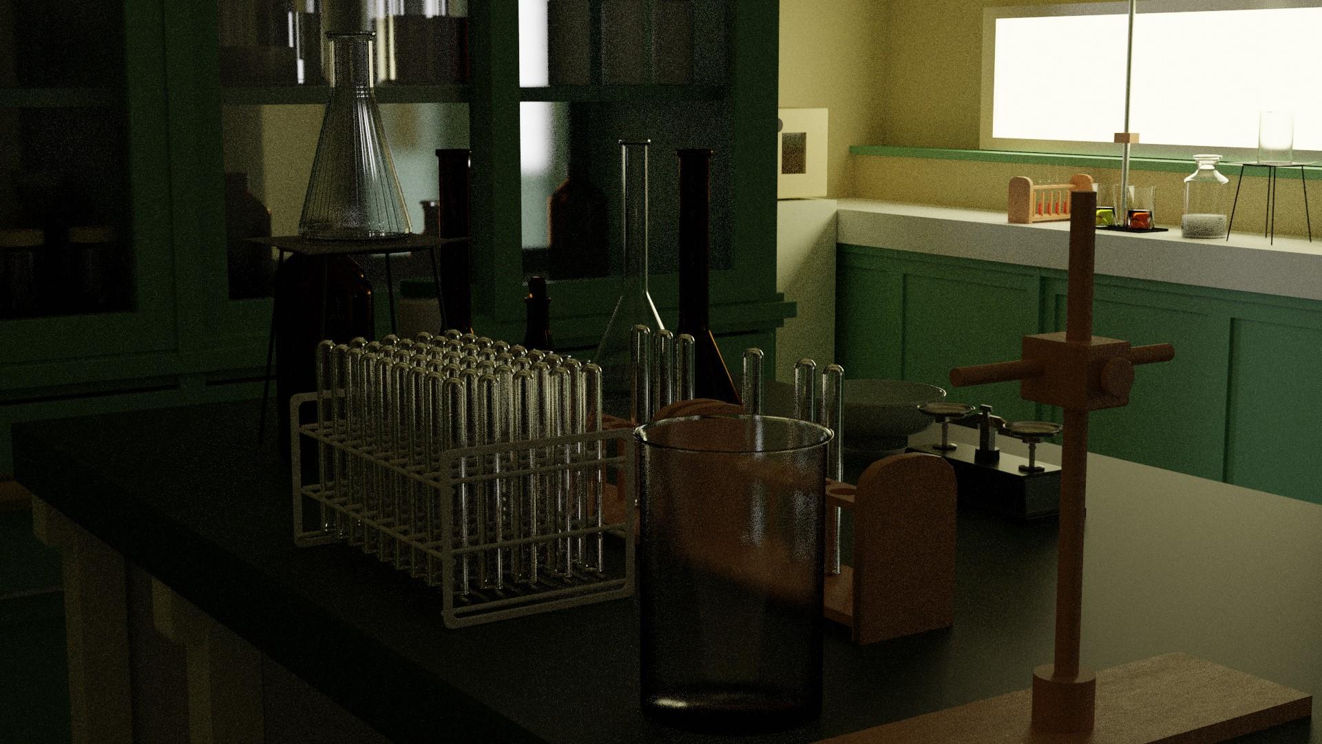 理科室の実験室2