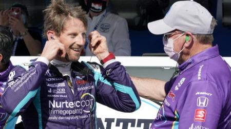 元F1ドライバーのグロージャンが8月にオーバルレース参戦へ、2022年のインディ500参戦も視野に