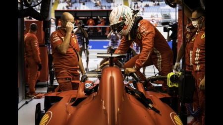 F1ロシアGP:フェラーリがルクレールのマシンにアップグレードエンジン(PU)を投入、最後尾スタートへ