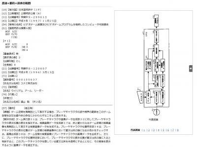 コナミ カメラ 特許
