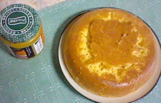 ホットケーキミックスで作ったおからケーキ