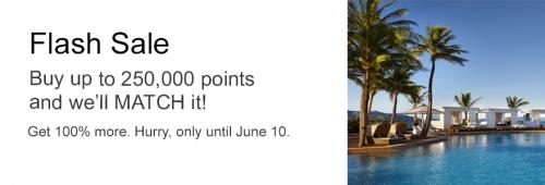 IHGリワードがポイント購入で100%ボーナスポイントのキャンペーン 2021 年 6 月 10 日までのフラッシュセール