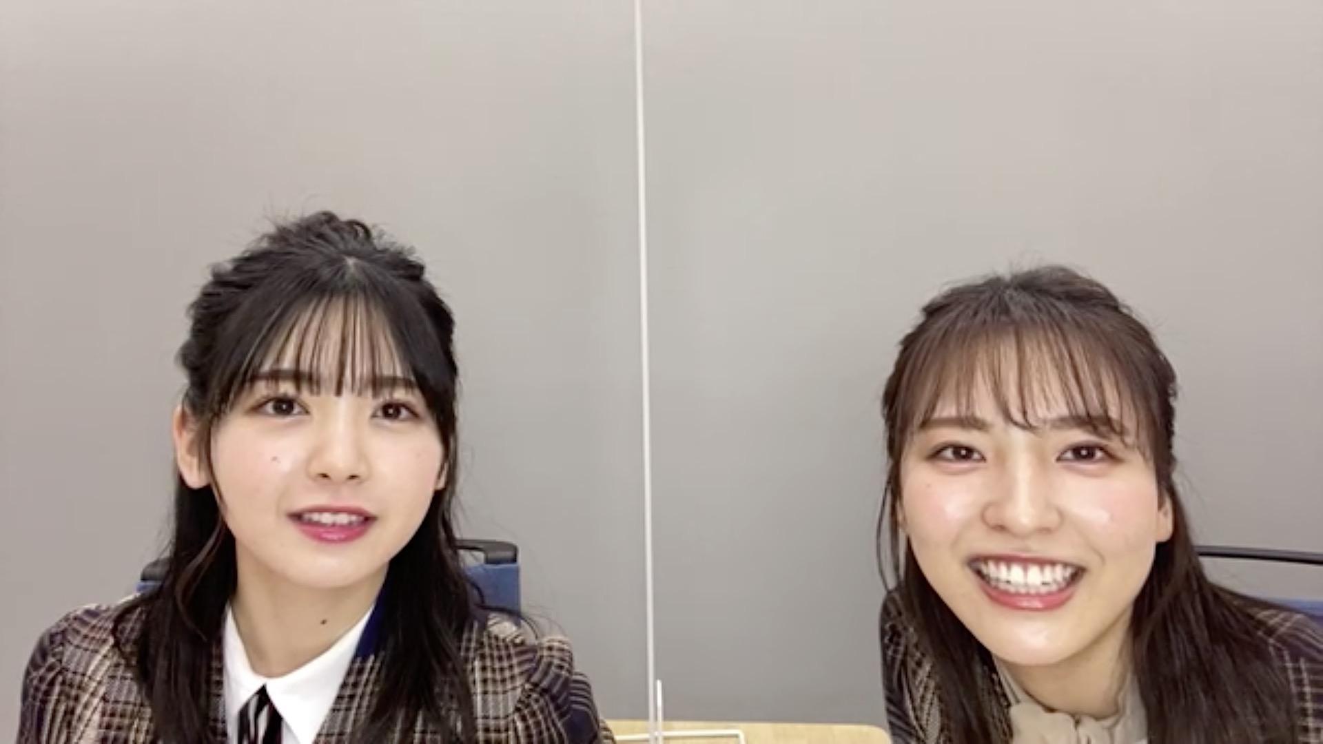 乃木坂46「猫舌SHOWROOM」 筒井あやめ 早川聖来