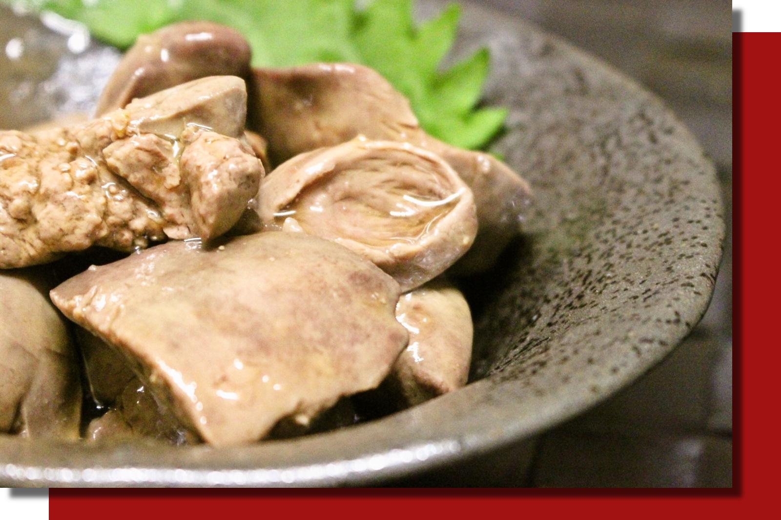 鶏肝煮202105