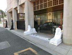 在日エジプト大使館 三田用水跡散策5