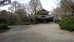 旧朝倉家住宅 三田用水跡散策5