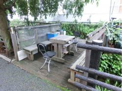 洗足流れ 休憩所 上池台散策2