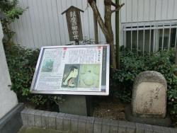 「芭蕉の句碑」など 新川散策5
