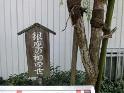 銀座の柳四世 新川散策5