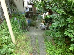 初台支流 急な階段 代々木八幡・初台・西原・大山散策記事2