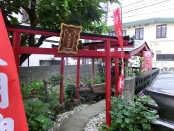 民家の神社2 上池台散策3