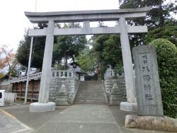 代田八幡神社 代田・代沢散策1
