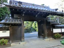 斎木記念館 表門 代田・代沢散策2