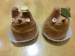 「白髭のシュークリーム工房」のシュークリーム 代田・代沢散策3