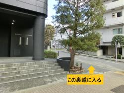 日の丸自動車脇の道 三田用水散策7