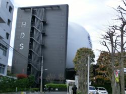 日の丸自動車 巨大な球体 三田用水散策7