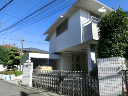 服部克久の自宅1 代田・代沢散策4