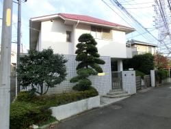 服部克久の自宅2 代田・代沢散策4
