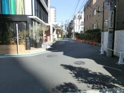 目黒通りの裏道 三田用水散策8