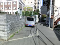 目黒通り裏の細長い空間 三田用水散策8