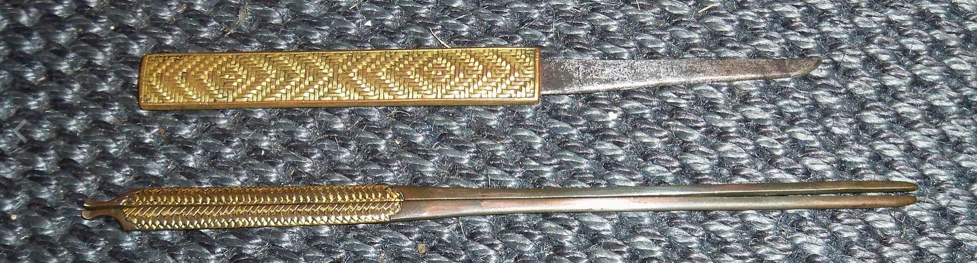 日本刀の付属品としての笄 笄軒記事