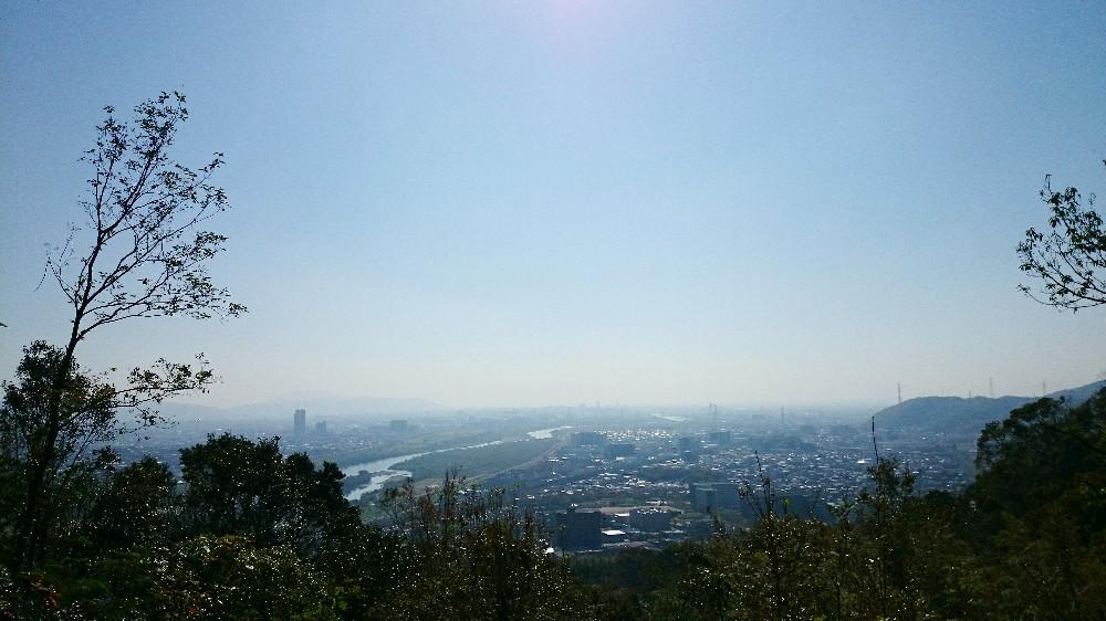 青木葉谷広場から見た景色