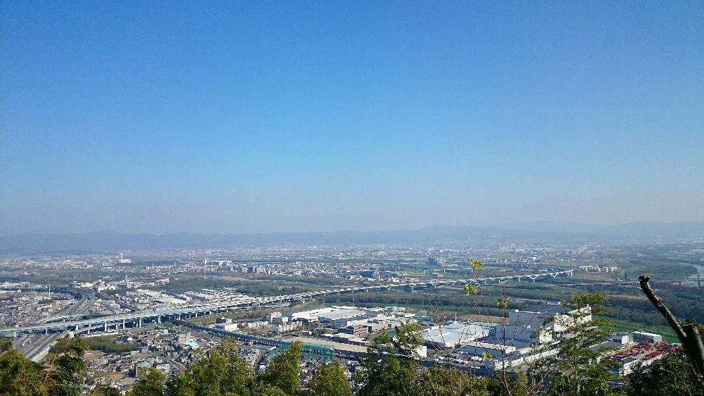 旗立松展望台から見た景色