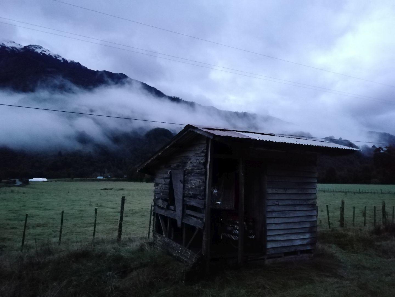 pude evitar viento y lluvia. muy agradecido por esta casita haber estado aqui .