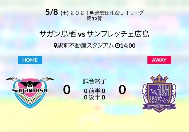 ホーム広島戦結果