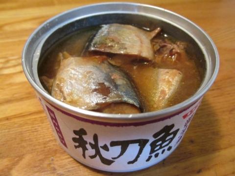 サンマ缶1