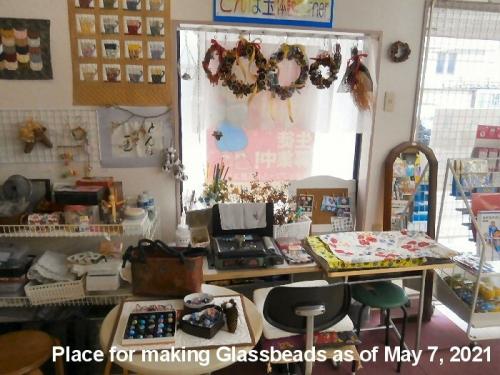 1f 700 20210507 Place f making glass beads