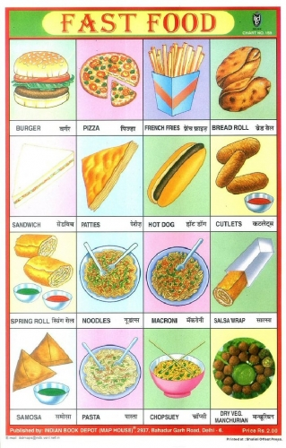 3c 700 fast food poster