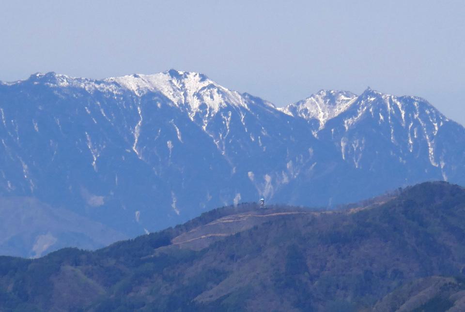 40189 小倉山から鳳凰三山 960×645