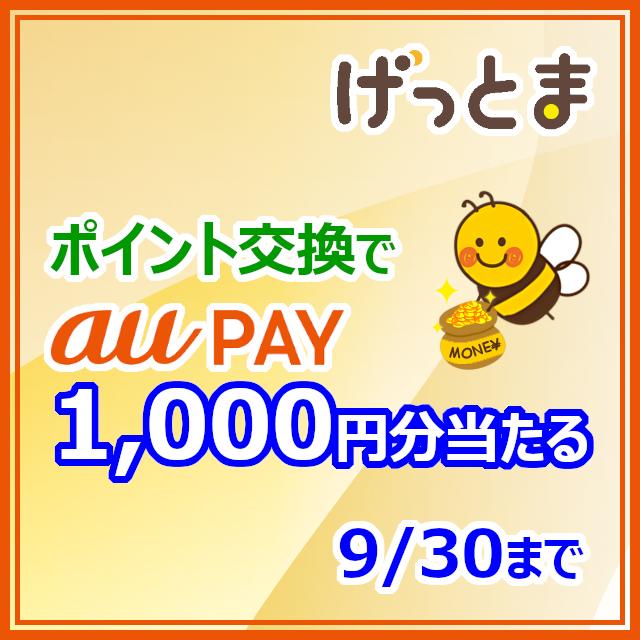 au PAYギフトカード交換開始記念キャンペーン