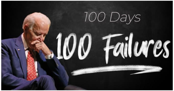 Rep Comer points out 100 failures in President Biden's first 100 days